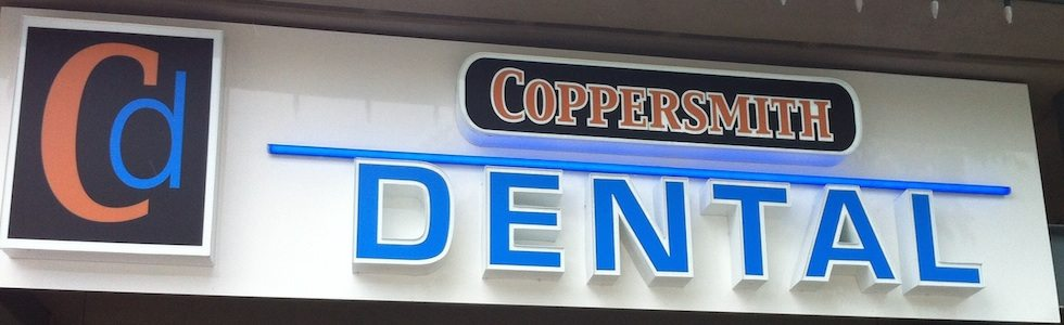 Coppersmith Dental Exterior Signage