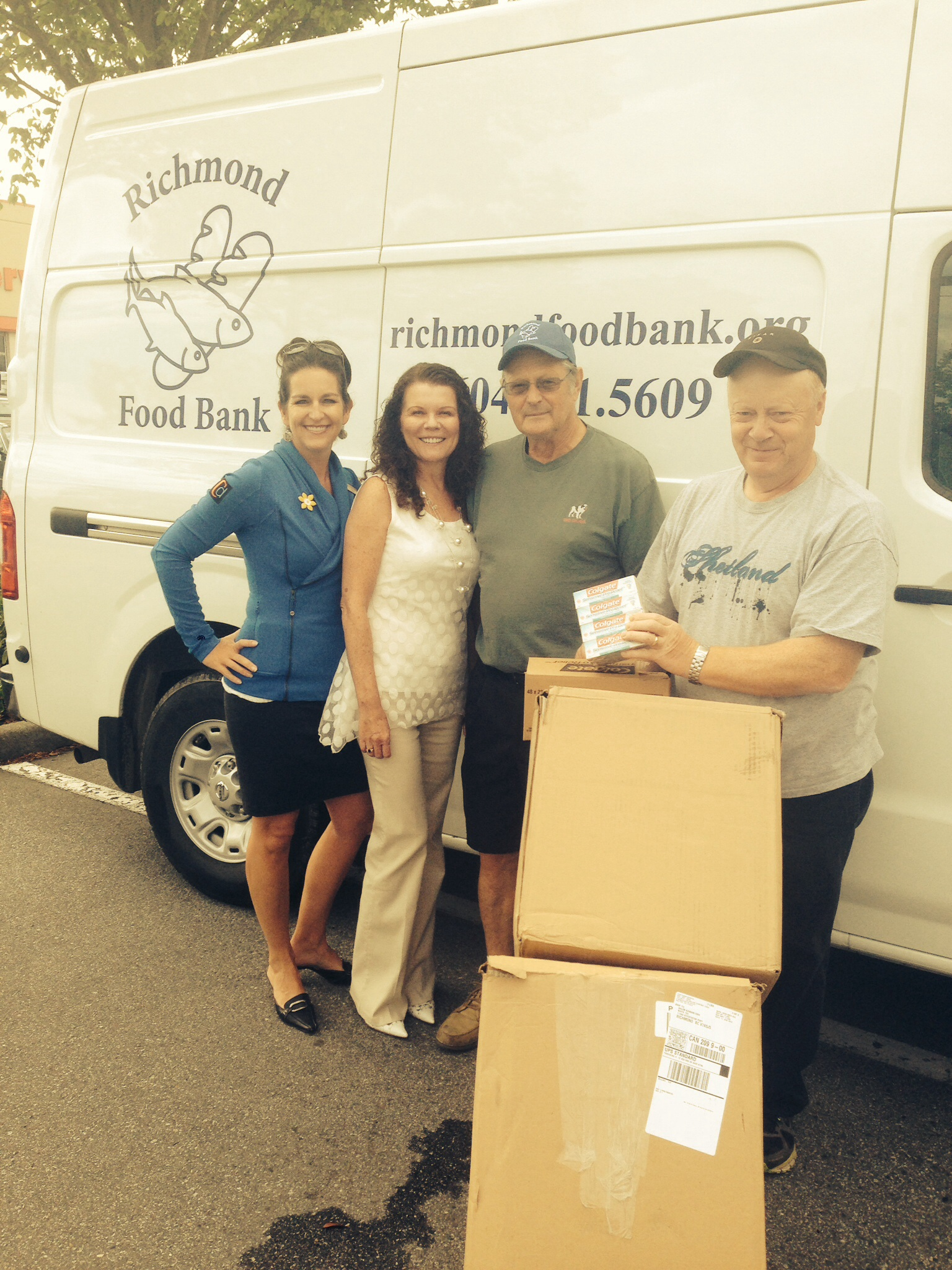 Coppersmith Gives Back to the Local Food Bank