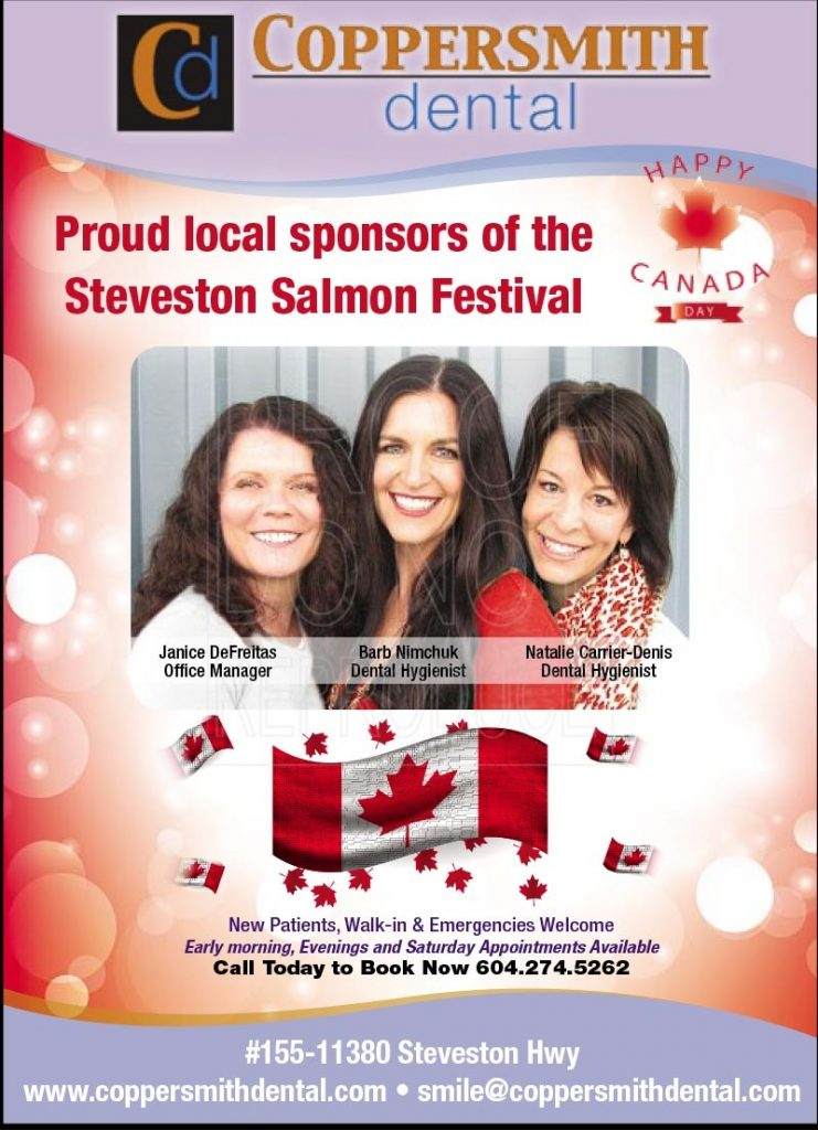 Visit us at the Salmon Festival!